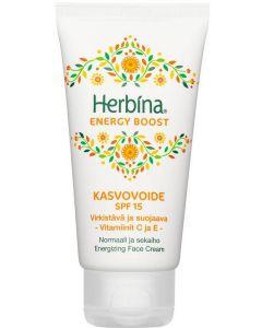 HERBINA 50ML ENERGY BOOST KASVOVOIDE SPF15
