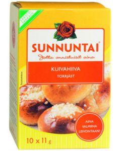 SUNNUNTAI 10X11G KUIVAHIIVA