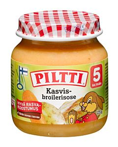 PILTTI KASVIS-BROILERSOSE 5KK 125G