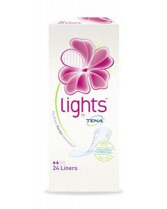 LIGHTS BY TENA  PIKKUHOUSUNSUOJA LINER 24KPL
