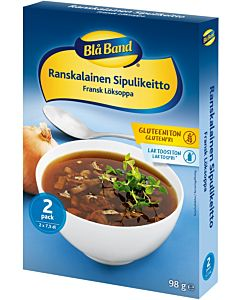 BLÅ BAND GLUTEENITON SIPULIKEITTO 2X49G