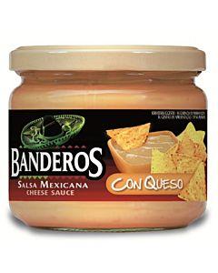 BANDEROS SALSA CON QUESO 300G JUUSTOKASTIKE