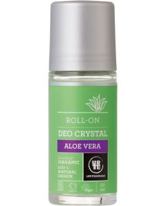 URTEKRAM LUOMU ALOE VERA KRISTALLIDEODORANTTI ROLL-ON 50ML