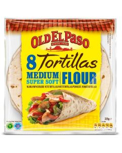 OLD EL PASO 8/326G VEHNÄTORTILLA MEDIUM