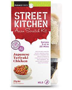STREET KITCHEN JAPANESE TERIYAKI CHICKEN MAUSTESEOS 255G