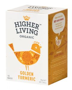 HIGHER LIVING GOLDEN TURMERIC LUOMU KURKUMA YRTTITEE 15PSS