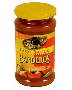 BANDEROS MEDIUM TACO SAUCE 230G