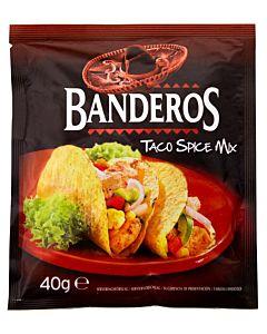 BANDEROS TACO SPICE MIX 40G