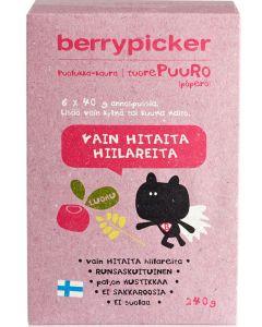 BERRYPICKER PUOLUKKA-KAURAPÖPERÖ 240G LUOMU 6X40G