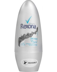 REXONA CRYSTAL CLEAR ROLL-ON AQUA 50ML
