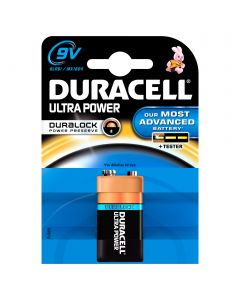 DURACELL 9V ULTRA POWER ALKALIPARISTO