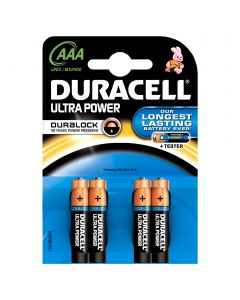 DURACELL ULTRA POWER AAA /4KPL ALKALIPARISTO
