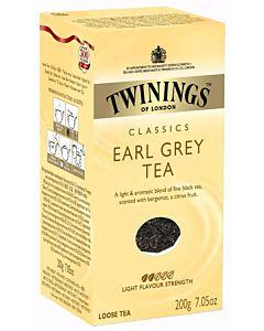 TWININGS 200G EARL GREY IRTOTEE