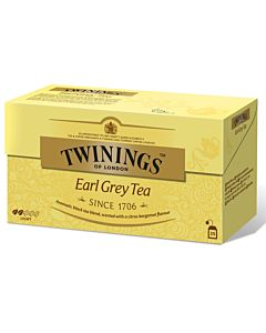 TWININGS 25PS/50G EARL GREY TEE