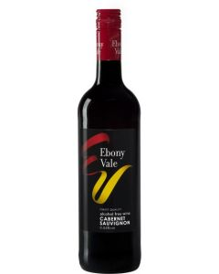 EBONY VALE CABERNET SAUVIGNON ALKOHOLITON PUNAVIINI 75CL