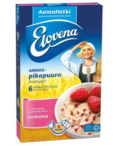 ELOVENA HETKI VADELMA 6X35G