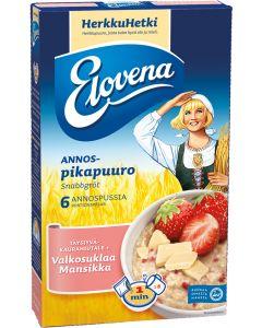 ELOVENA 6X35G VALKOSUKL-MANSIKKA PIKAPUURO