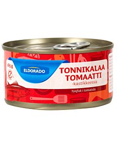 ELDORADO 185G TONNIKALA TOMAATTIKASTIKKEESSA