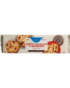 ELDORADO 150G WHITE CHOCOLATE/CRANBERRY COOKIES