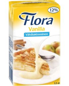 FLORA VANILLA VANILLIINIKASTIKE 2,5DL