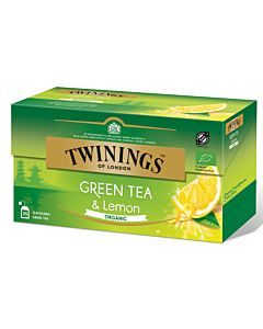 TWININGS 25PS/37,5G LUOMU GREEN TEA LEMON