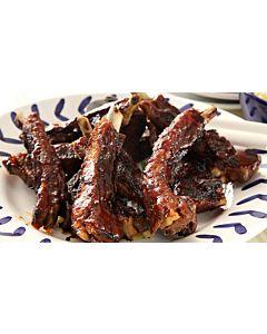 Resepti-Ribs eli grillattu porsaankylki