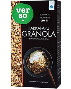 VERSO 350G NATURAL HÄRKÄPAPU GRANOLA