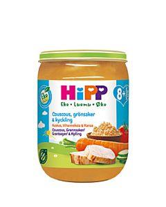 HIPP 190G LUOMU COUS/KASV/KANA 8+