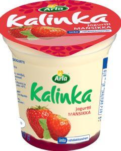 ARLA KALINKA MANSIKKAKERROSJOGURTTI VÄHÄLAKTOOSINEN 150G