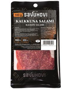 SAVUHOVI KALKKUNASALAMI 140G