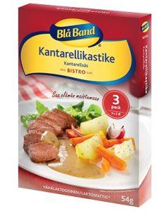 BLÅ BAND BISTRO 3X18G KANTTARELLI KASTIKEAINES