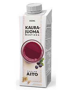 KASLINK AITO KAURAJUOMA MUSTIKKA UHT 2,5DL