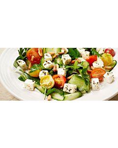 Resepti-Vihreä kesäsalaatti