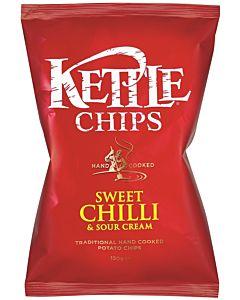 KETTLE CHIPS SWEET CHILI & SOUR CREAM PERUNALASTU 150G