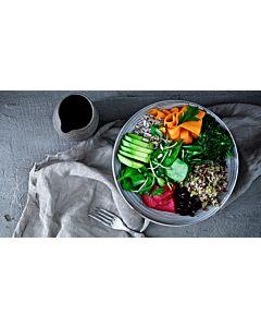 Resepti-Kvinoa- & kikhernebowl