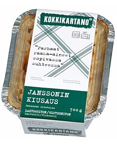 KOKKIKARTANO JANSSONIN KIUSAUS 0.7KG