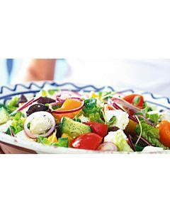 Resepti-Kreikkalainen salaatti
