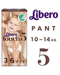 LIBERO TOUCH HOUSUVAIPPA KOKO 5 (10-14KG) 36KPL