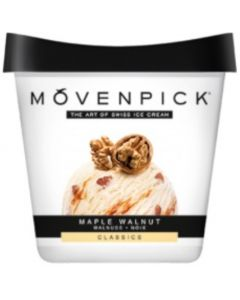 PAKASTE MÖVENPICK MAPLE WALNUT KERMAJÄÄTELÖ 289G/500ML