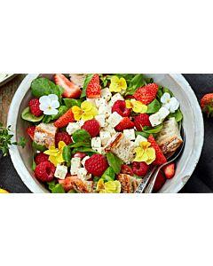 Resepti-Marjainen maalaisleipäsalaatti
