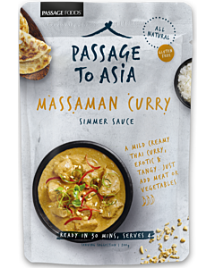 PASSAGE TO ASIA MASSAMAN CURRY ATERIAKASTIKE 200G