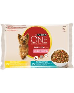 PURINA ONE 4X100G SMALL DOG WEIGHT CONTROL KOIRALLE