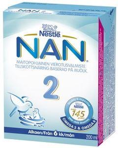 NAN PRO 2, 200ML VIEROITUSVALMISTE