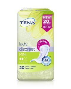 TENA LADY SIDE DISCREET MINI 20KPL
