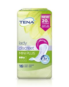 TENA LADY SIDE DISCREET MINI PLUS 16KPL