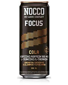 NOCCO FOCUS COLA 330ML ENERGIAJUOMA