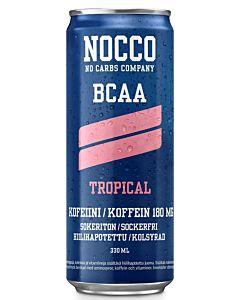 NOCCO BCAA TROPICAL 330ML ENERGIAJUOMA