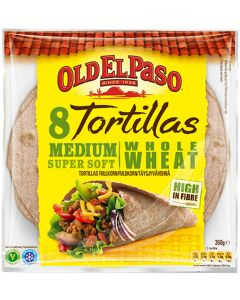 OLD EL PASO 8/326G TÄYSJYVÄVEHNÄ TORTILLA MEDIUM