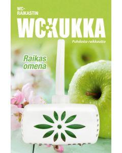 WC KUKKA 50G RAIKAS OMENA WC-RAIKASTIN