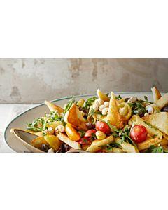 Resepti-Grillijuusto-pastasalaatti